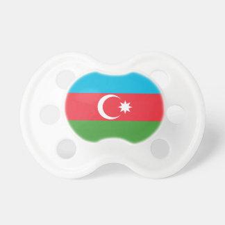 アゼルバイジャンの国民の世界の旗 おしゃぶり