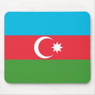 アゼルバイジャンの国民の世界の旗 マウスパッド