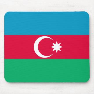 アゼルバイジャンの愛国心が強い旗 マウスパッド