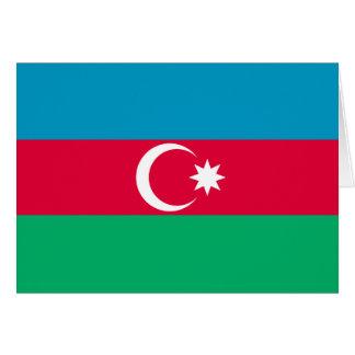 アゼルバイジャンの旗 カード