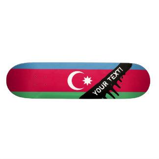 アゼルバイジャンの旗 20CM スケートボードデッキ