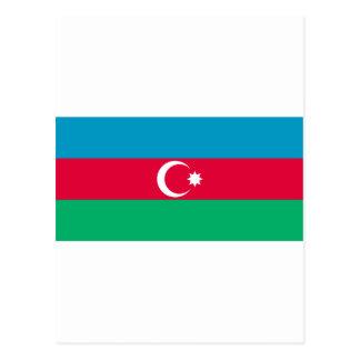 アゼルバイジャンの旗AZ ポストカード