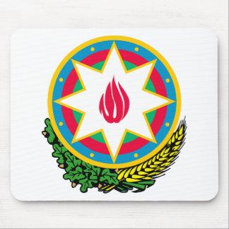 アゼルバイジャンの紋章付き外衣 マウスパッド
