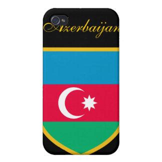 アゼルバイジャンの美しい旗 iPhone 4/4S CASE