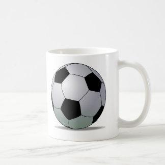 アソシエーションフットボールのアメリカのサッカーボール コーヒーマグカップ