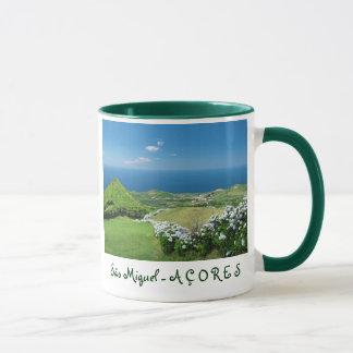 アゾレスの景色 マグカップ