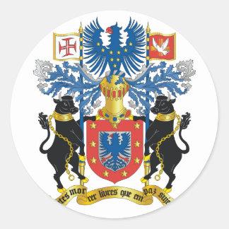 アゾレスの紋章付き外衣 ラウンドシール