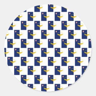 アゾレスは継ぎ目が無いパターンに印を付けます ラウンドシール