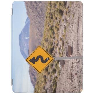 アタカマ砂漠を交通標識 iPadスマートカバー