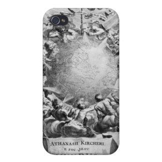 アタナシウス・キルヒャー著Mundus Subterraneus iPhone 4/4Sケース