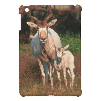 アダックス/白いカモシカ/Screwhorneのカモシカ iPad Mini カバー
