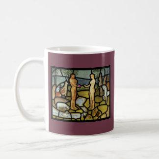 アダムおよびイブのマグ コーヒーマグカップ