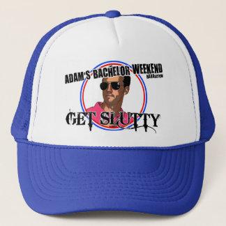アダムのバチュラーパーティの帽子 キャップ