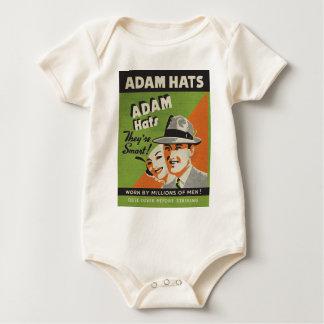 アダムの帽子 ベビーボディスーツ