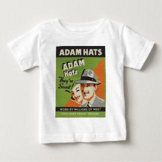 アダムの帽子 ベビーTシャツ