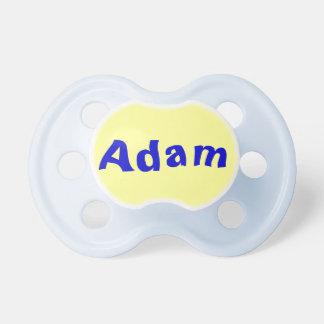 アダムの男の赤ちゃんの調停者 おしゃぶり