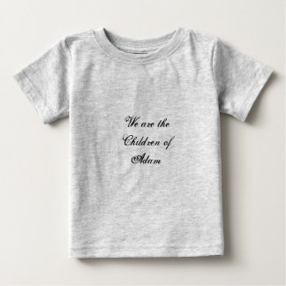 アダムのTシャツの子供 ベビーTシャツ