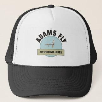 アダムスのはえの魚釣りの魅惑 キャップ