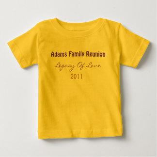 アダムスの懇親会のTシャツ(ベビー) ベビーTシャツ