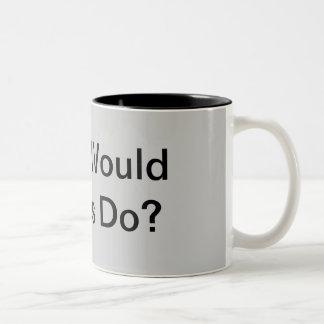 アダムスは何をしますか。 ツートーンマグカップ