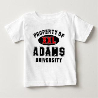 アダムス大学の特性 ベビーTシャツ