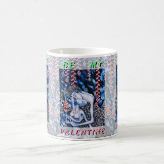 アダム及びイブのバレンタインデー コーヒーマグカップ