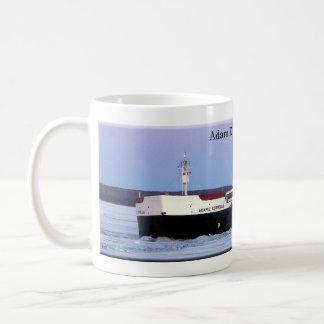 アダムE.コルネリウスのマグ コーヒーマグカップ