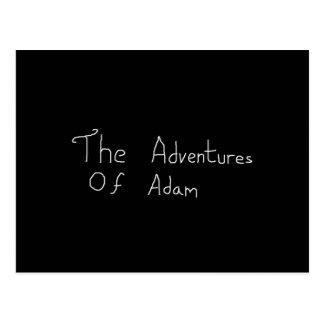 アダムMerchの冒険 ポストカード