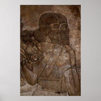 アッシリアの兵士 ポスター