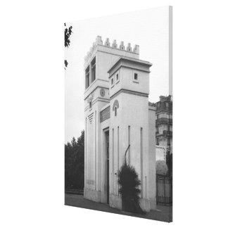 アッシリアの家、普遍的な展覧会、パリ キャンバスプリント