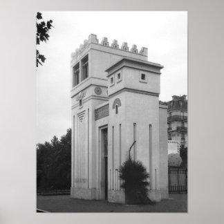 アッシリアの家、普遍的な展覧会、パリ ポスター