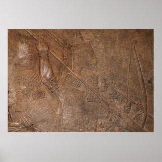 アッシリアの戦士 ポスター
