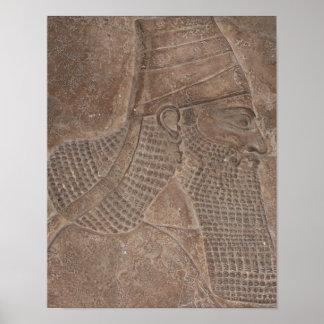 アッシリアの王 ポスター