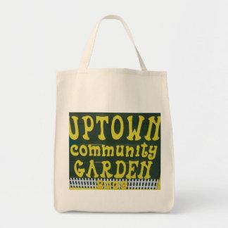 アップタウンのコミュニティ庭の戦闘状況表示板 トートバッグ