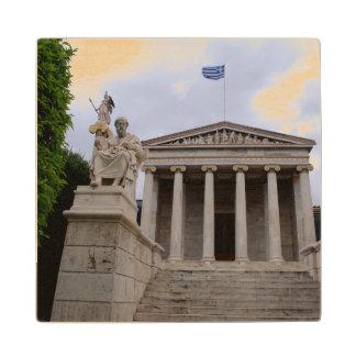 アテネのアカデミー ウッドコースター
