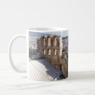 アテネのアクロポリスのコーヒー・マグ コーヒーマグカップ