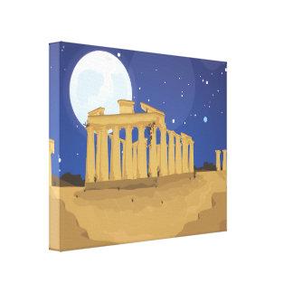 アテネのアクロポリス キャンバスプリント