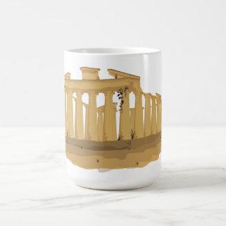 アテネのアクロポリス コーヒーマグカップ
