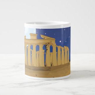 アテネのアクロポリス ジャンボコーヒーマグカップ