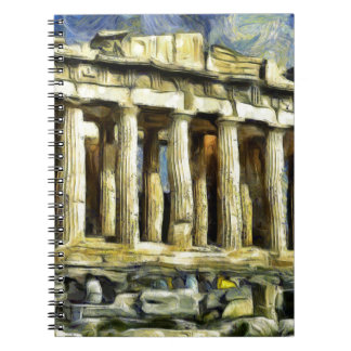 アテネのアクロポリス ノートブック