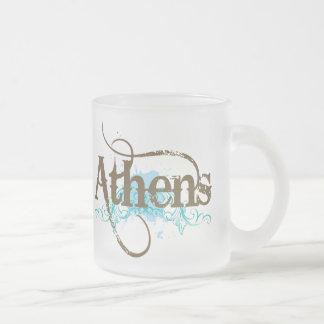 アテネのギフト フロストグラスマグカップ