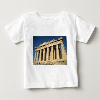 アテネのパルテノンのアクロポリス ベビーTシャツ