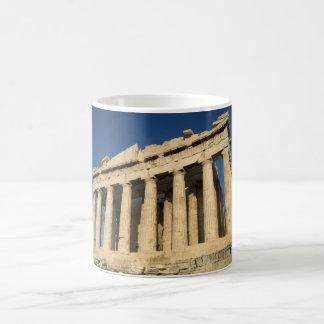 アテネのパルテノンのアクロポリス マジックマグカップ