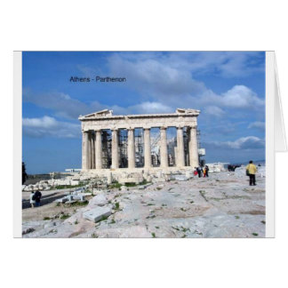 アテネのパルテノン カード