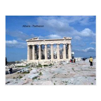 アテネのパルテノン ポストカード