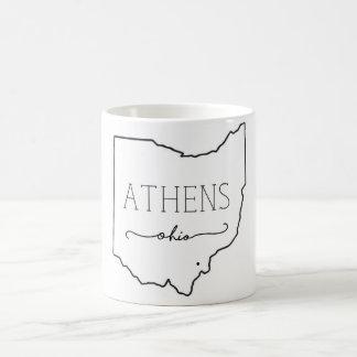 アテネのマグ コーヒーマグカップ