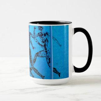 アテネのマラソンの青写真 マグカップ