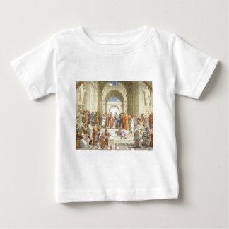 アテネの学校 ベビーTシャツ