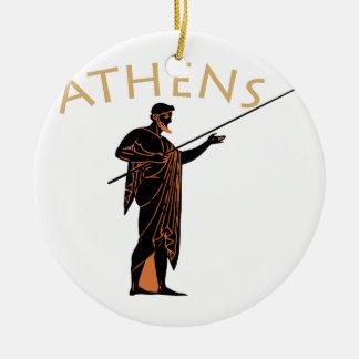 アテネの戦士 セラミックオーナメント