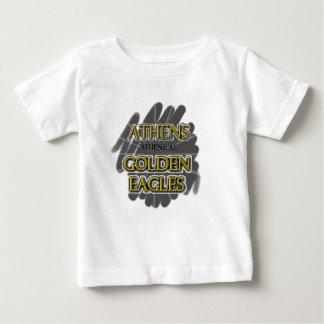アテネの高等学校金イーグルス-アテネのAL ベビーTシャツ
